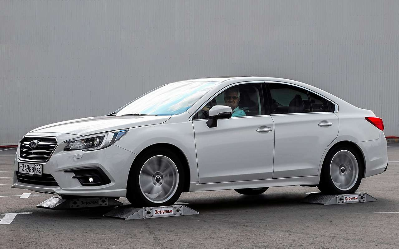 Субару, Мерседес, BMW, Audi...— чей полный привод круче— фото 933366