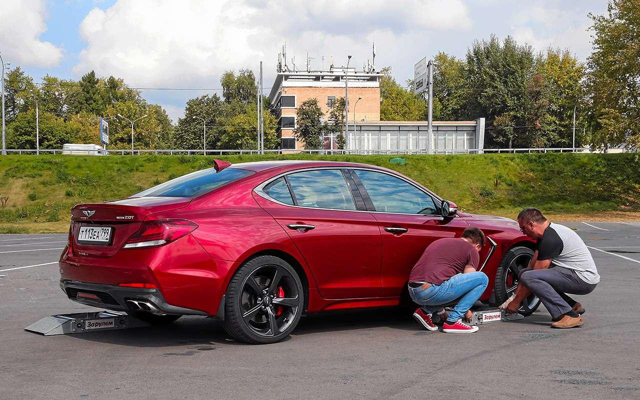 Субару, Мерседес, BMW, Audi...— чей полный привод круче— фото 933385