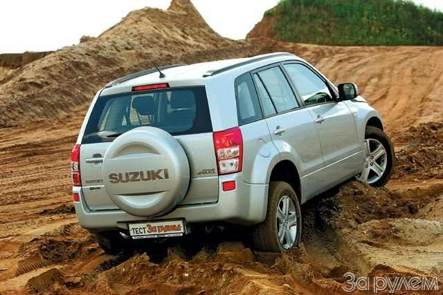 Suzuki Grand Vitara. Секретный гранд— фото 58434