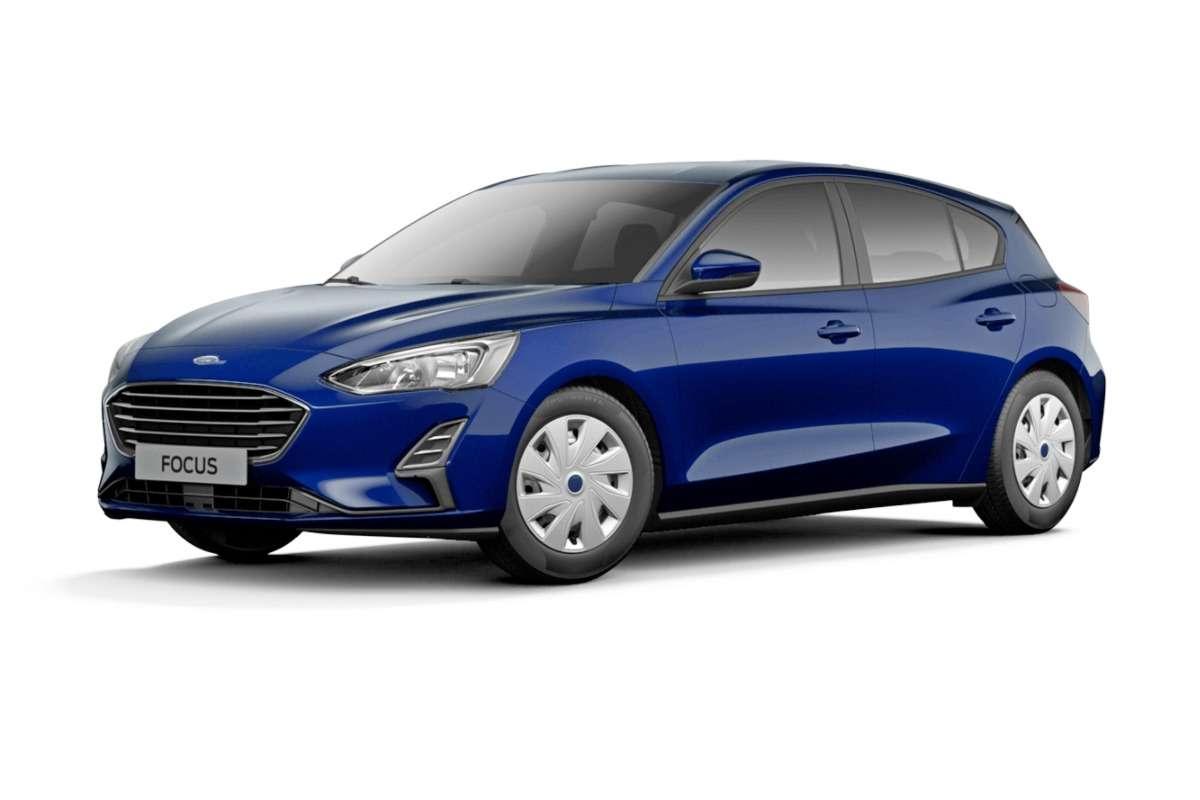Голый, ноне смешной: новый Ford Focus вбазовых версиях— фото 862234