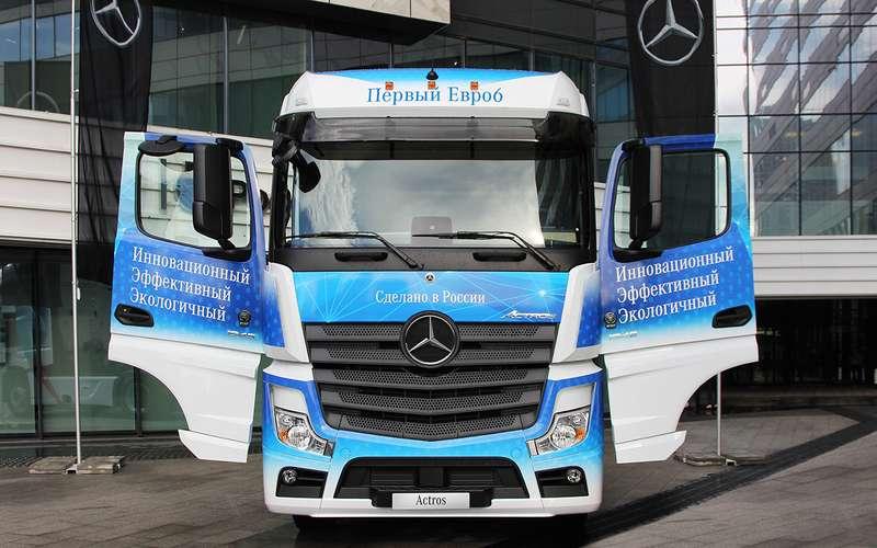 Mercedes-Benz Actros— лучший магистральный грузовик 2021 года