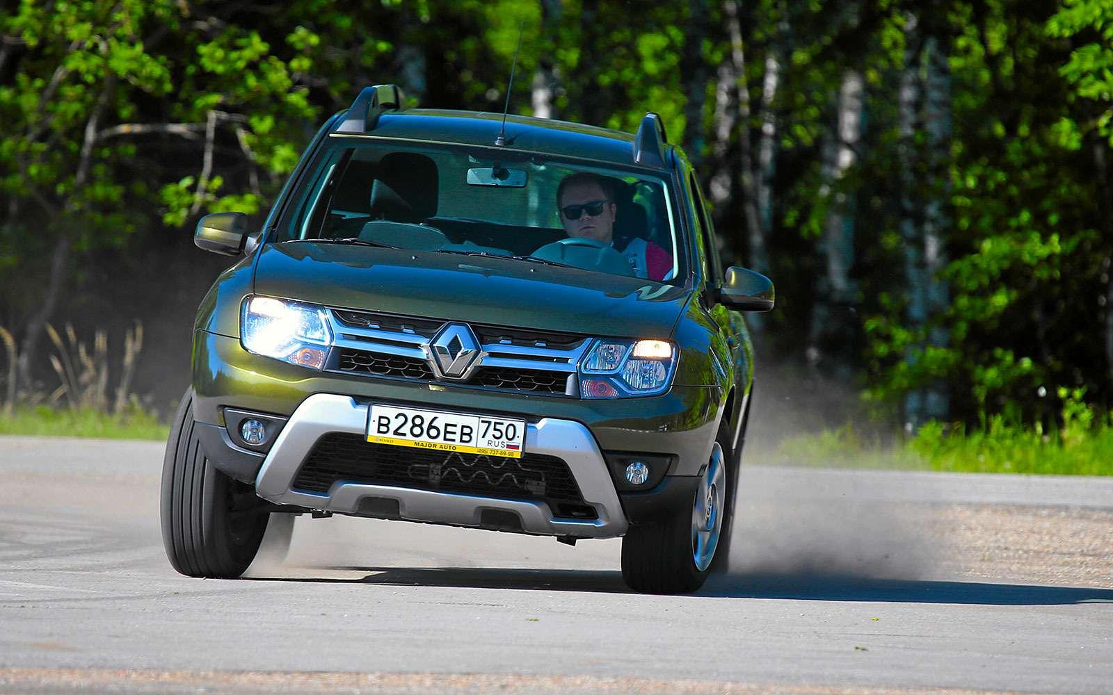 Renault Kaptur, Renault Duster, Suzuki Vitara: мода от-каптюр— фото 619977