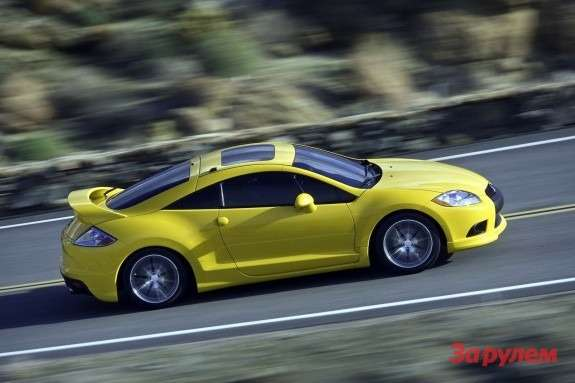 Mitsubishi Eclipse GT side view