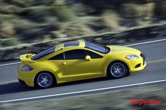 Mitsubishi Eclipse GTside view