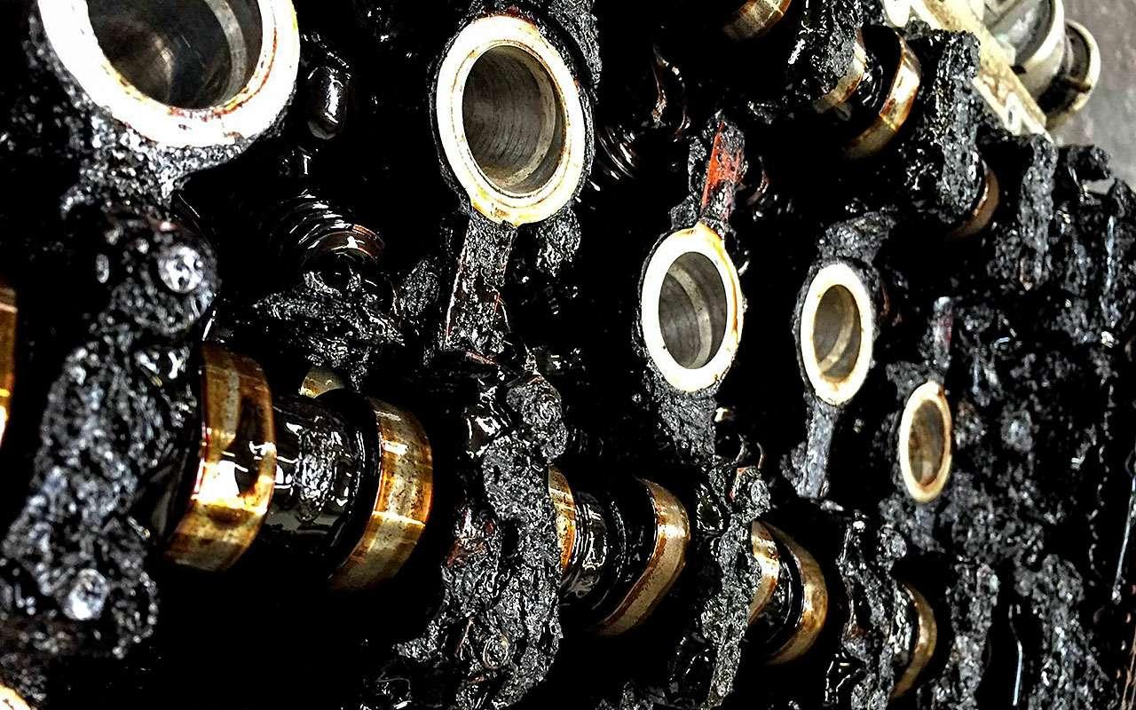 Промывка двигателя при замене масла: напользу или вовред?— фото 710564