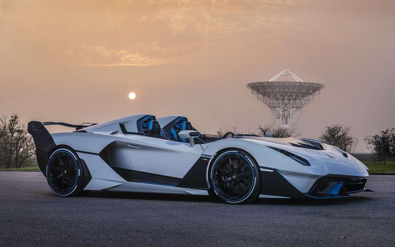 Снос крыши: посмотрите нановый спайдер Lamborghini SC20— фото 1210300