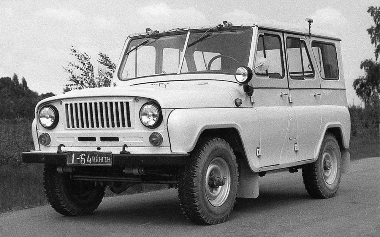 «Козлик» УАЗ-469— таких модификаций выточно не видели!— фото 978719