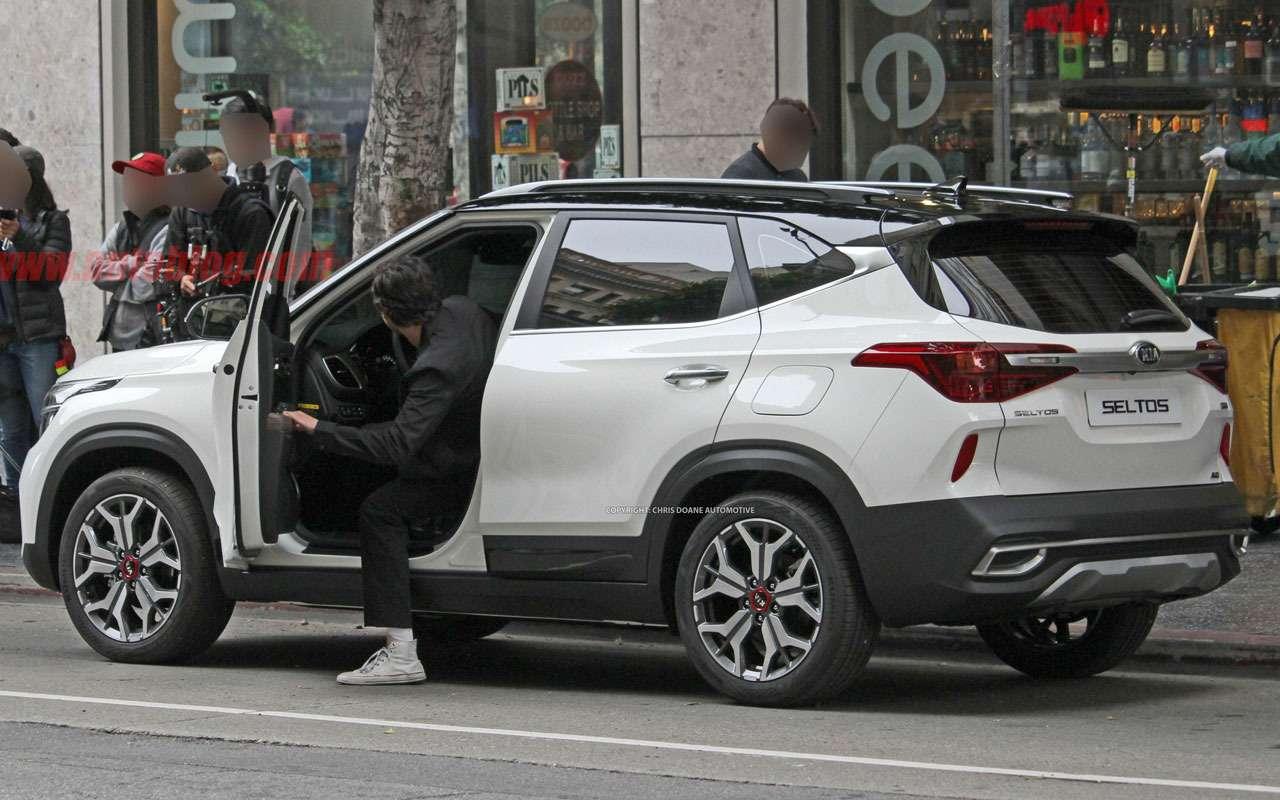 Новый конкурент Hyundai Creta: первые фото Kia без камуфляжа— фото 977464