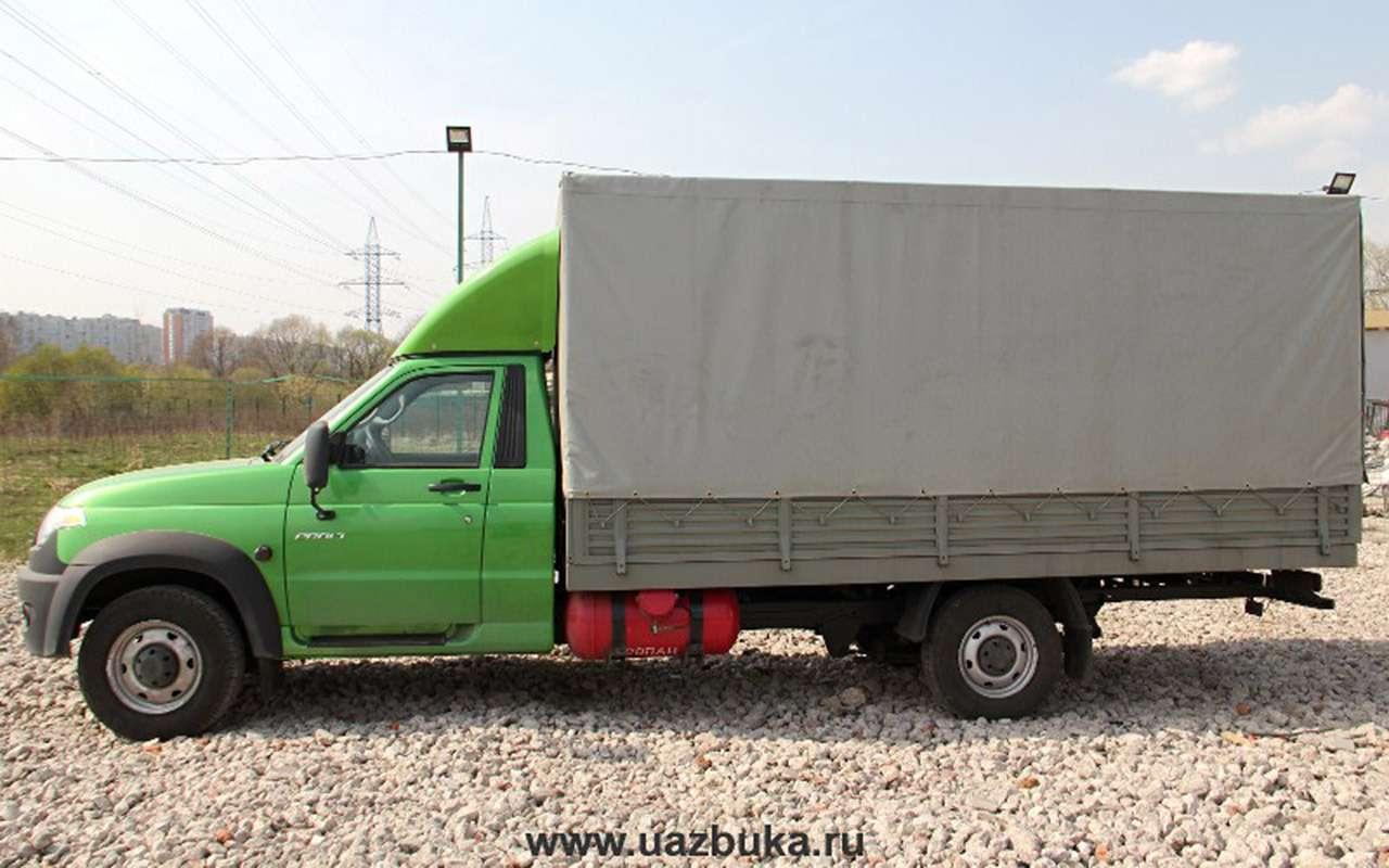 УАЗготовит новую версию грузовика Профи— фото 974551