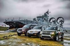 УАЗ Патриот, Chevrolet Niva, Renault Duster.