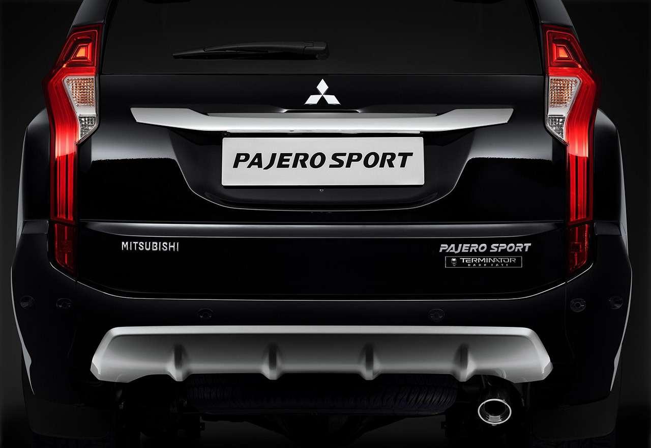 Mitsubishi выпустила Pajero Sport помотивам «Терминатора»— фото 999696