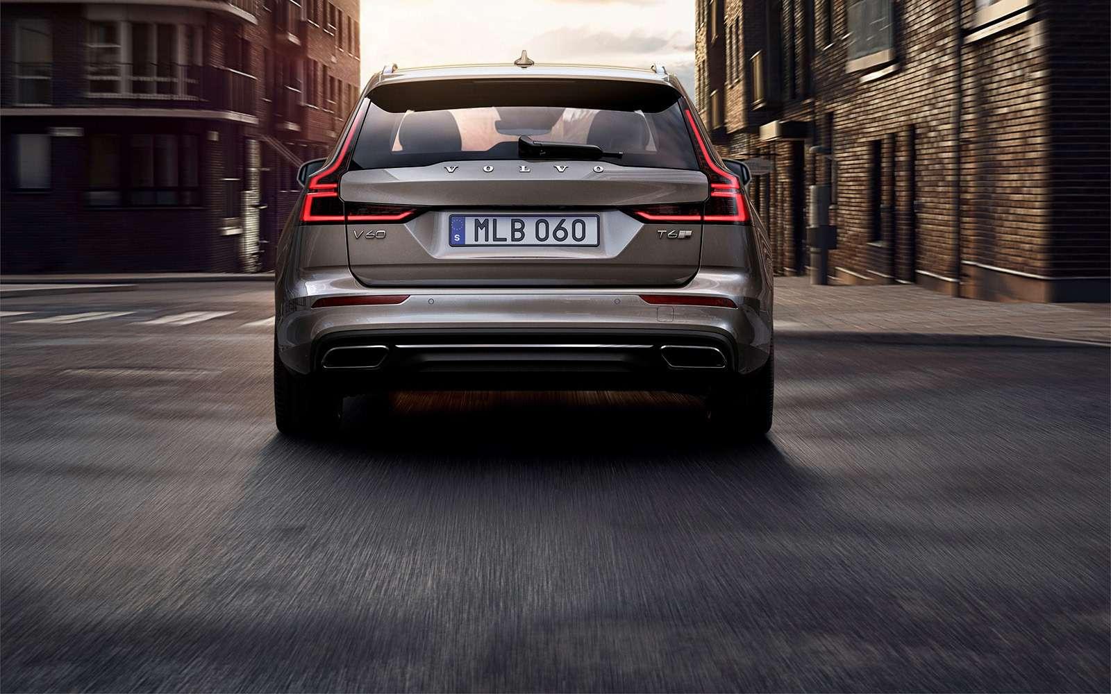 Volvo представила V60: семейный, роскошный инедлянас— фото 847549