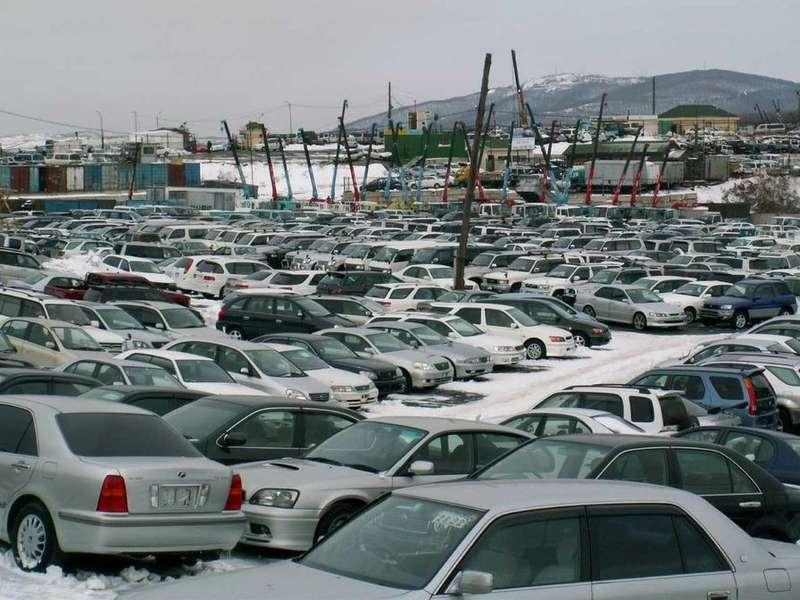 склад автомобилей воВладивостоке