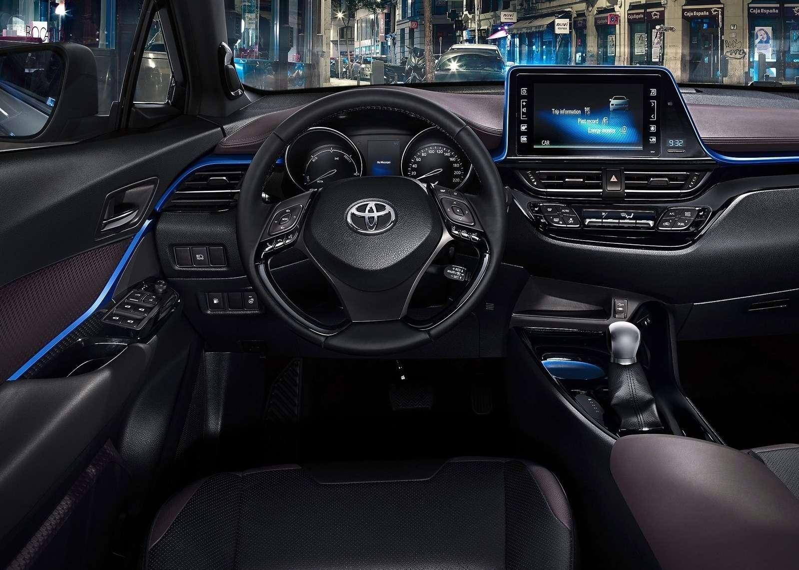 Интерьер Toyota C-HR: японцы нашли стиль— фото 602831