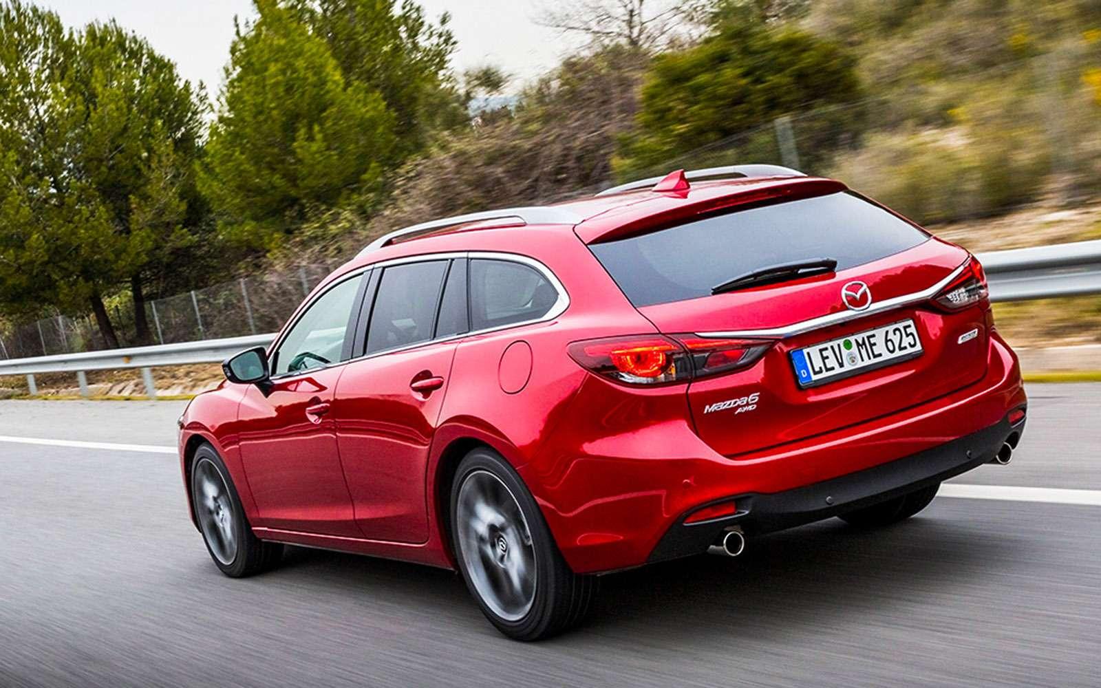 Обновленная Mazda 6: тонкая настройка— фото 657887