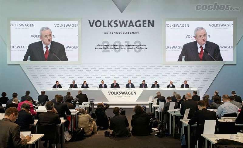 Заседание совета директоров Volkswagen AG