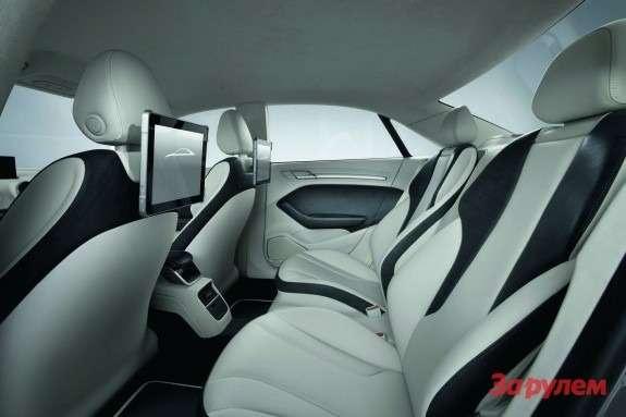 Audi A3e-tron Concept inside 2