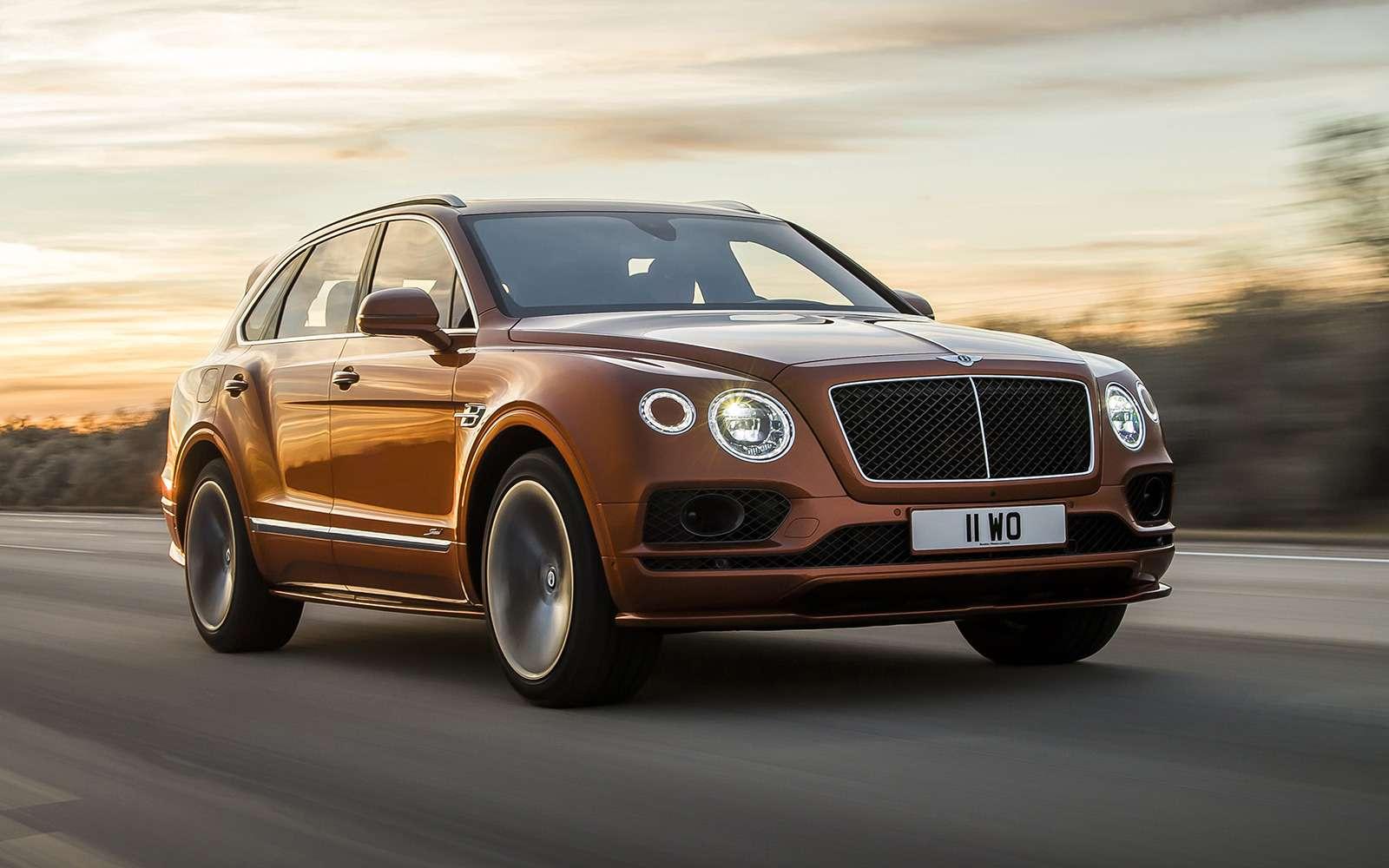 Самый быстрый внедорожник— теперь это Bentley— фото 949162