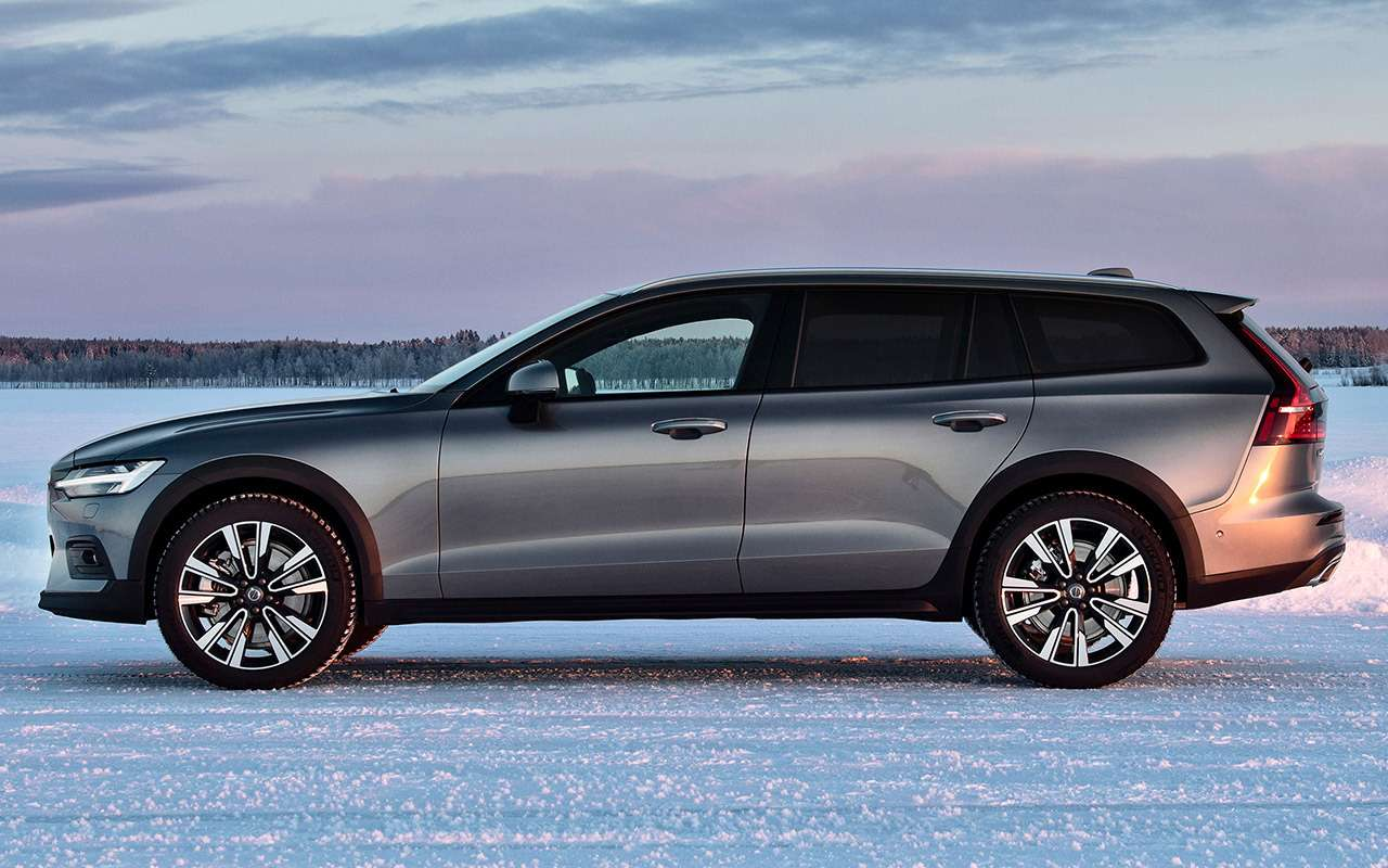 Универсал Volvo V60 Cross Country— тест наснегу ильду— фото 950857