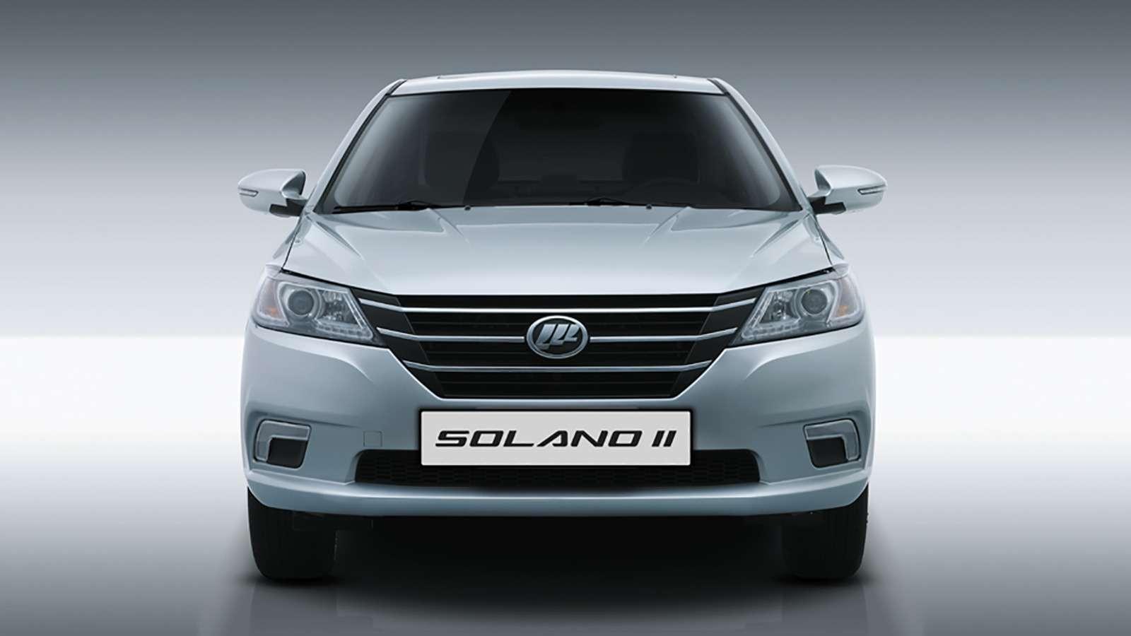 Новая версия седана Lifan Solano: известны цены— фото 834416