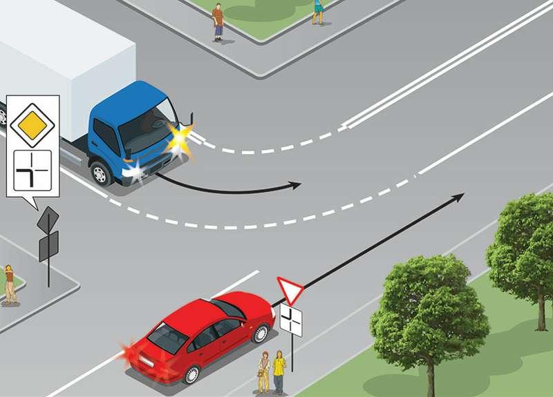 Простая задачка наПДД, ноошибутся 60% водителей
