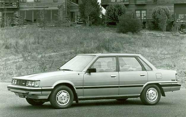 no copyright 1983 Toyota Camry