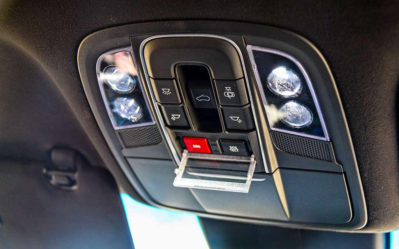 Тест нового Hyundai Santa Feскрутым автопилотом— фото 920456
