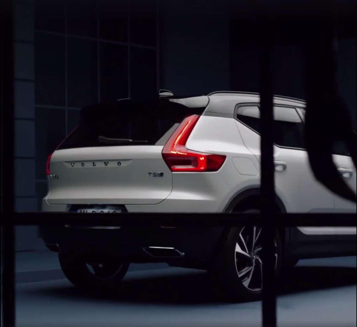 Кроссовер Volvo XC40 рассекретили допремьеры— фото 795203