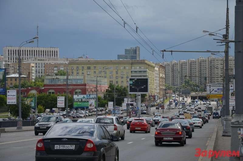 Садовое кольцо_крымский мост