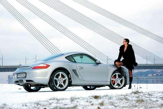 Porsche Cayman S.Наедине схищником— фото 62659