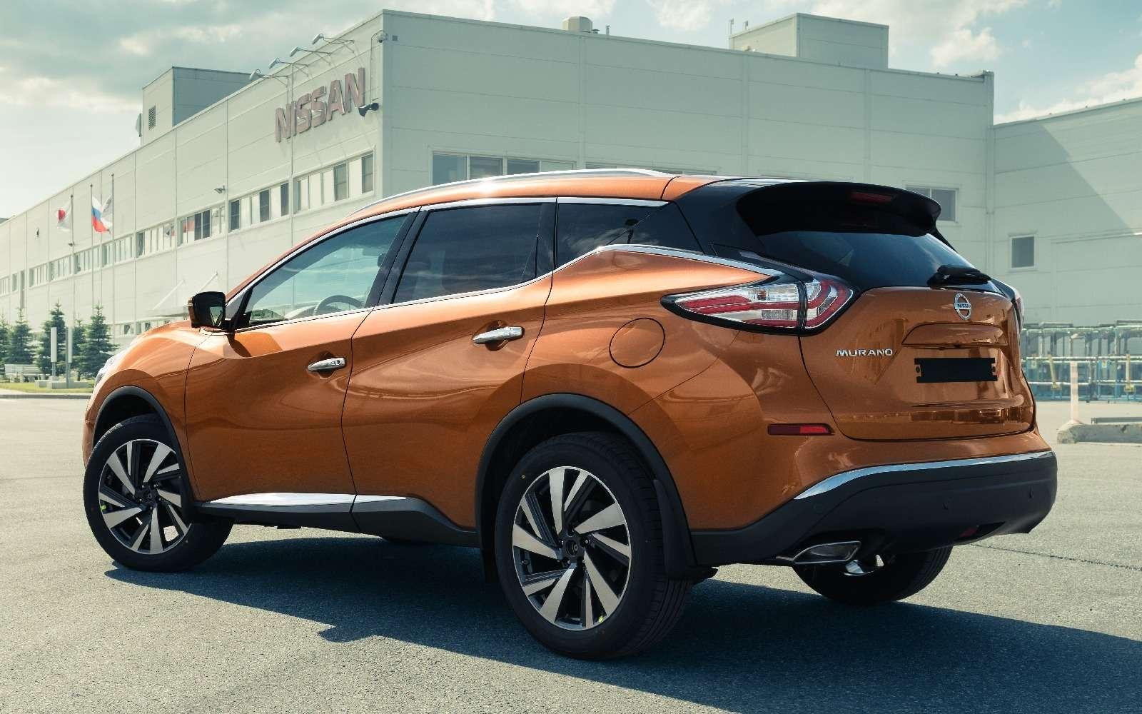 Новый Nissan Murano начали собирать вРоссии— фото 600525