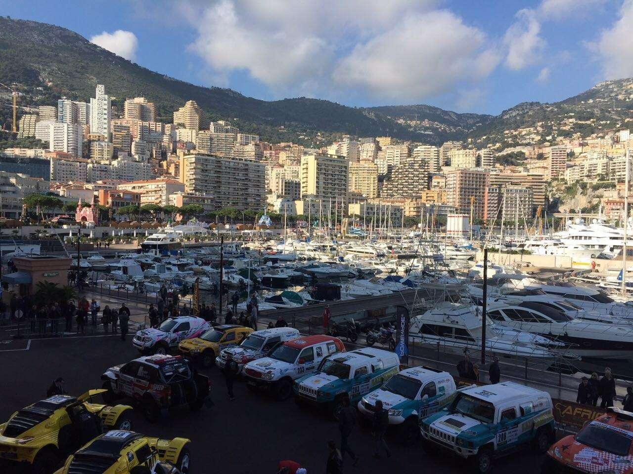 Africa Eco Race 2016. Старт вМонако.