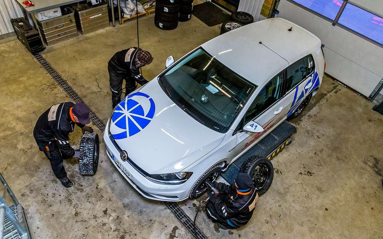 Большой тест шипованных шин: дорогие, подешевле и«никакие»— фото 1003243