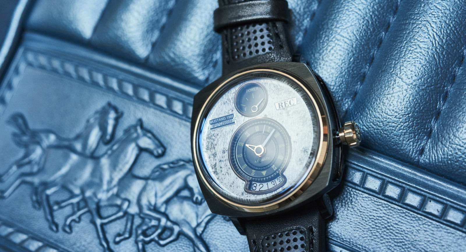 Всевдело: крутые часы изутилизированных Мустангов— фото 825272