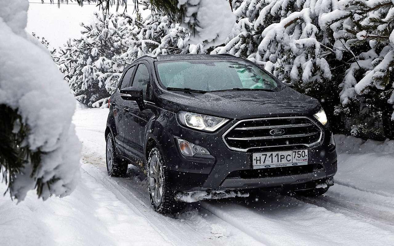 Ford EcoSport после 16500км: все досадные мелочи— фото 961609