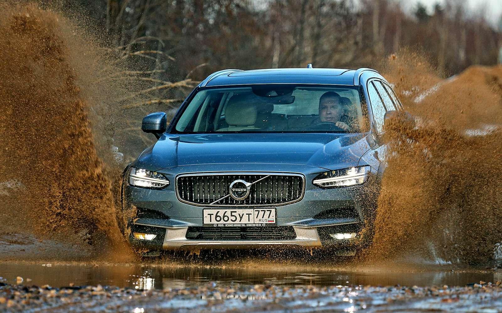 Тест-драйв Volvo V90 Cross Country— хорошо, нодорого— фото 764608