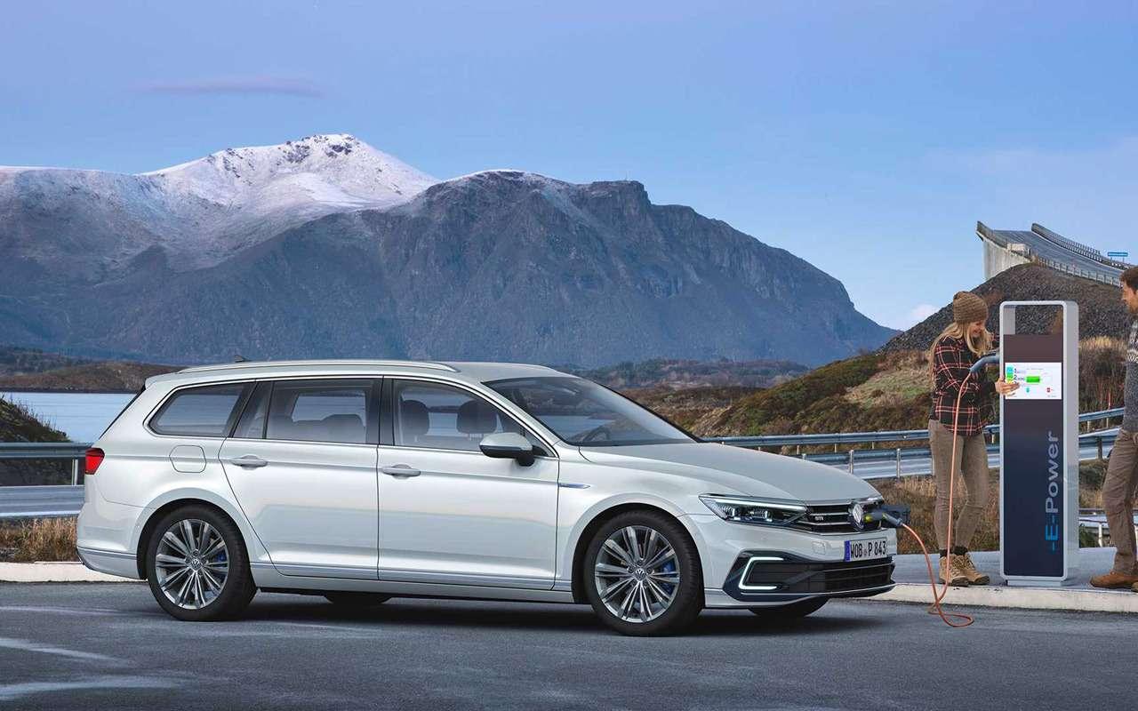 VWпредставил Passat счистым дизелем— фото 954954