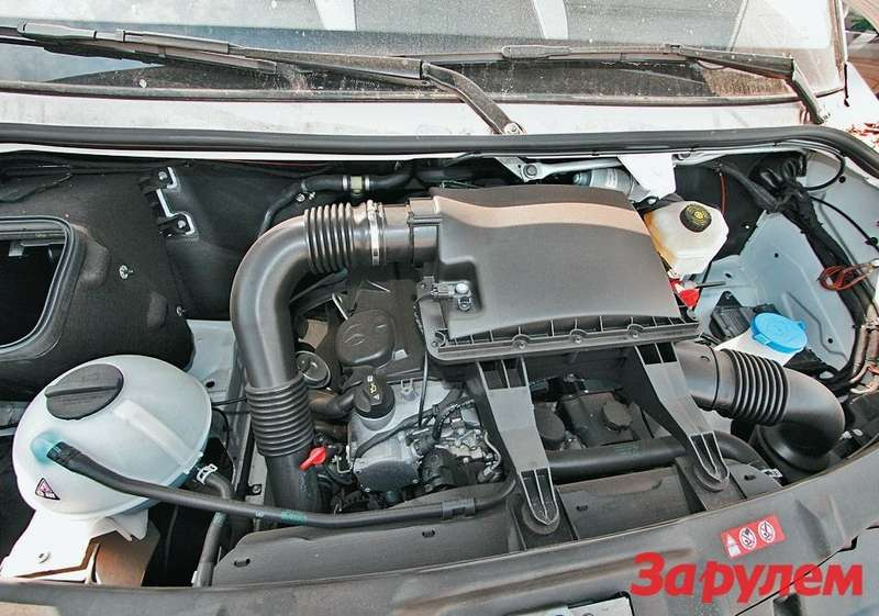 Новое поколение Sprinter оснастили двигателями мощностью от88до 258 лошадиных сил