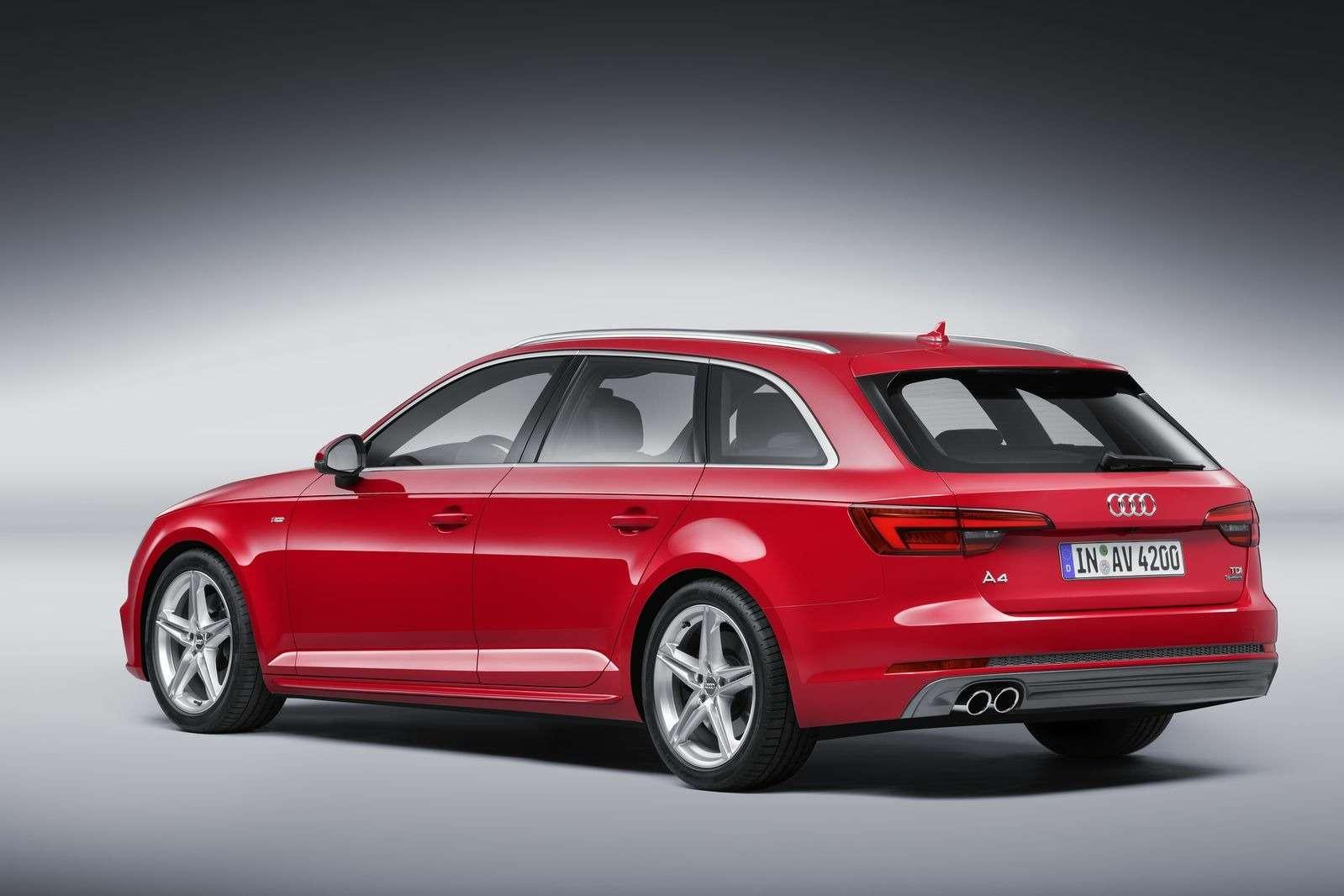 Audi раскрыла цены новой A4в России— фото 401263
