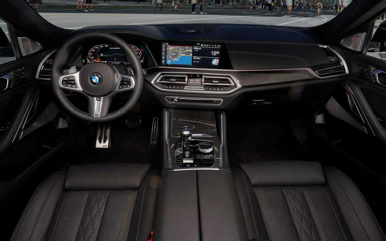 Новый BMW X6светится втемноте— фото 983972