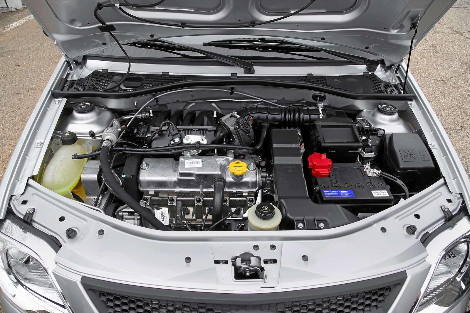 Lada Largus сдвигателем ВАЗ-11189: плюс три силы зарубли— фото 605456