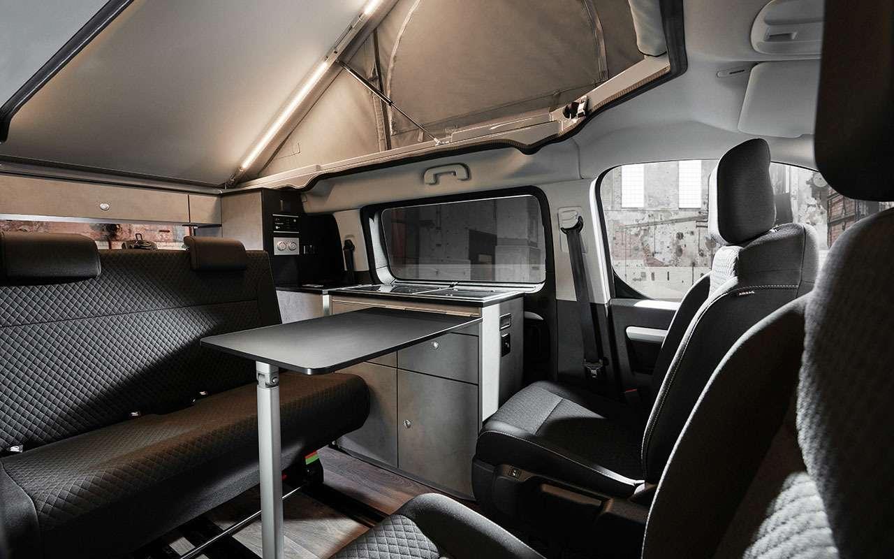 Премьера— весной: минивэн Opel превращается вкомпактный автодом— фото 1059680