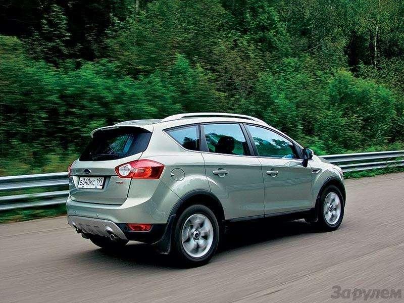 Тест Renault Koleos, Ford Kuga, Volkswagen Tiguan: Экспресс наМышкин— фото 89414