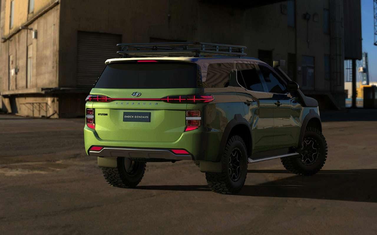 Рамный внедорожник Hyundai: вот как онмогбы выглядеть— фото 1168152