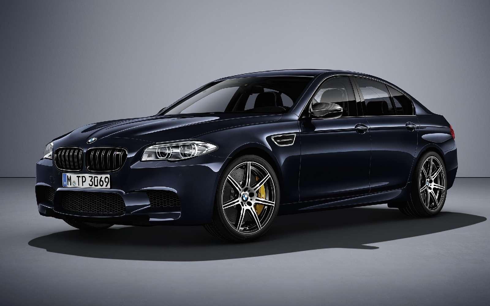 BMWM5не прощается, ноговорит досвидания— фото 611084