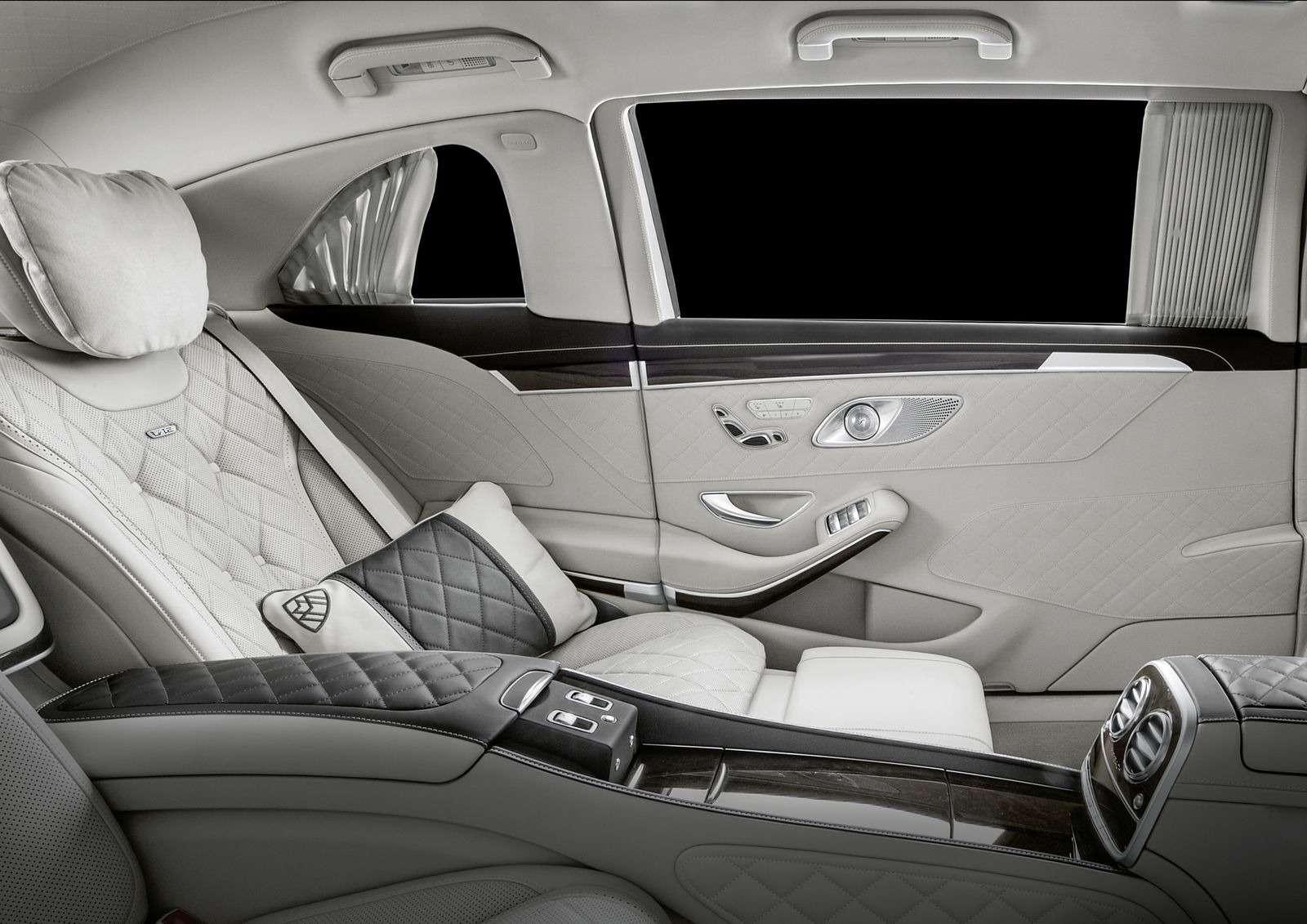 Лимузин Mercedes-Maybach Pullman пережил рестайлинг— фото 853892