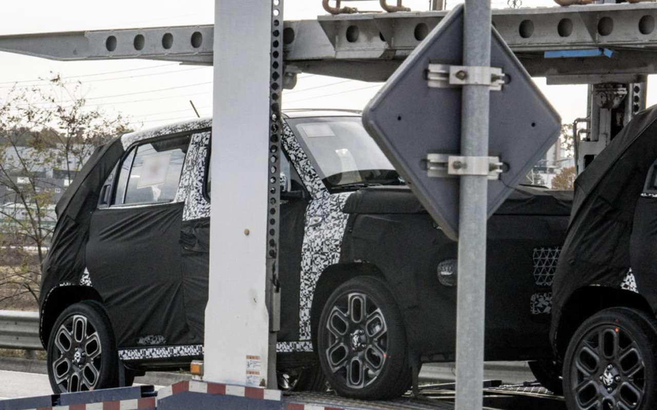 Hyundai тестирует загадочный крохотный кроссовер— фото 1201042