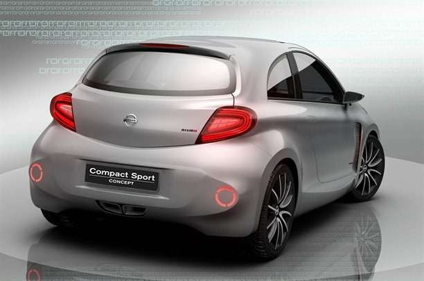 Nissan показал Compact Sport Concept набазе Micra