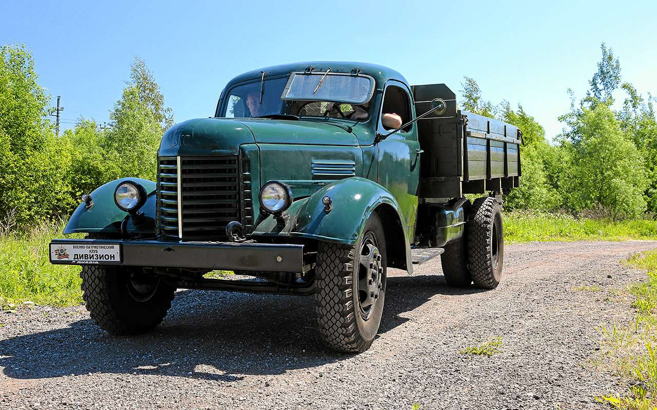 Заслуженный грузовик СССР— ретротест ЗИС-150— фото 1150087