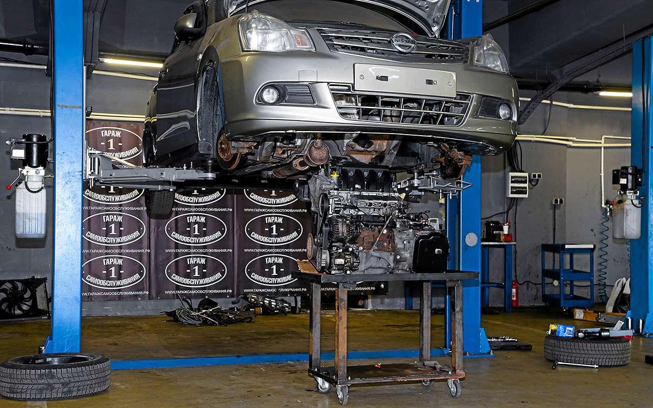 Nissan Almera после 120000км: она еще поездит!— фото 934626
